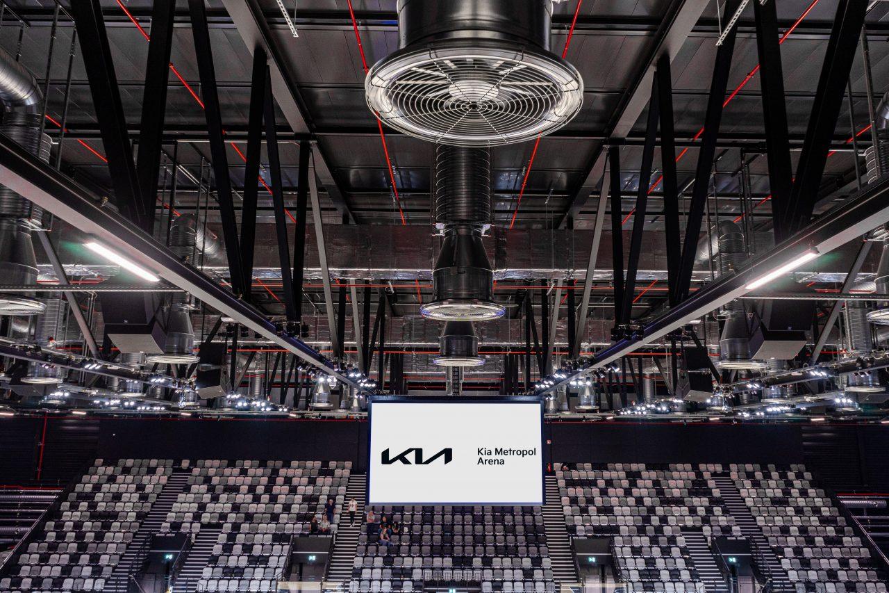 Kia Metropol Arena - Nürnberg, eine der modernsten Veranstaltungshallen in Deutschland, Sporthalle, Konzerte, Versammlungen